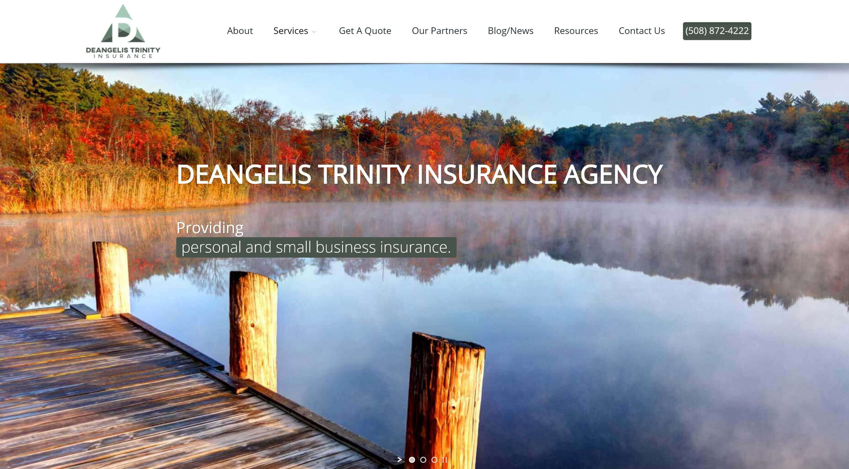 new deangelis trinity property casualty insurance website